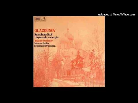 Alexander Glazunov : Symphony No. 8 in E-flat major Op. 83 (1906)