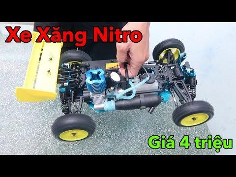Lâm Vlog - Xe Điều Khiển Từ Xa Chạy Bằng Xăng Nitro Giá 4 triệu   NITRO RC CAR $200