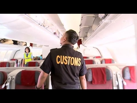 Patroli Pemeriksaan Pesawat - Customs Protection