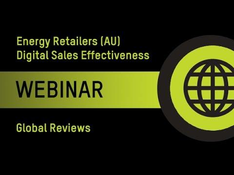 Energy Retailers Webinar: Digital Sales Effectiveness 08/12/14
