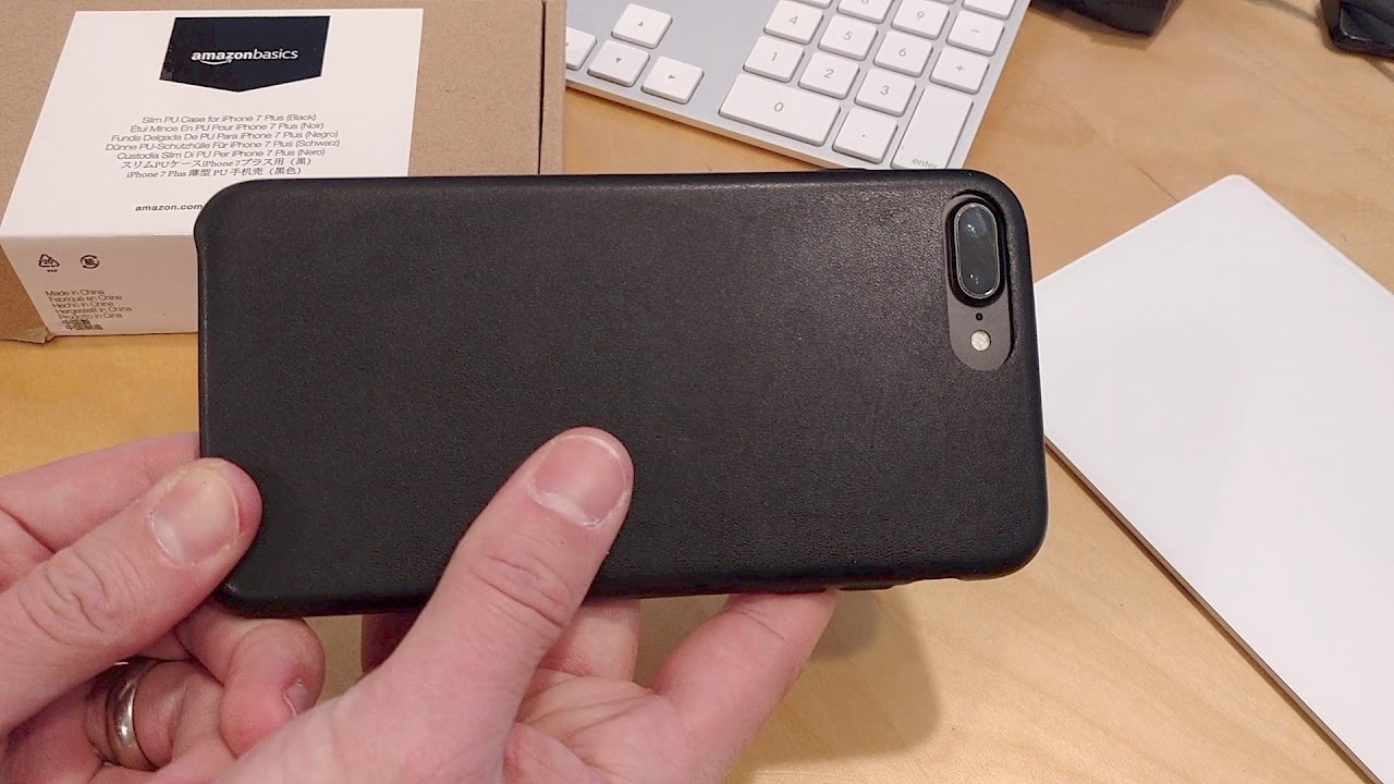 544682881a6 Amazon Basics Slim Case for iPhone 7 Plus Review - YouTube