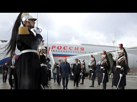 Путин прилетел в Париж на встречу «нормандской четверки»