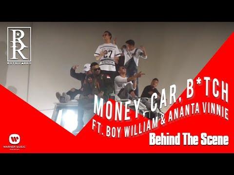 ROY RICARDO X BOY WILLIAM X ANANTA VINNIE - Money Car B*tch (Behind The Scene_