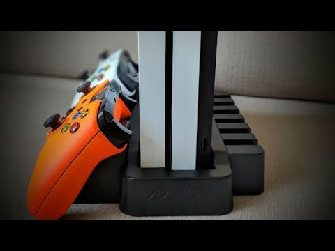 UNBOXING - VENOM VERTICAL CHARGING STAND FOR XBOX ONE X AND XBOX ONE S