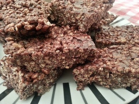 Chocolate Rice Krispies Cakes | Recipes By Chef Ricardo