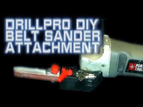 Drillpro DIY Belt Sander Angle Grinder Attachment   Banggood 🔧