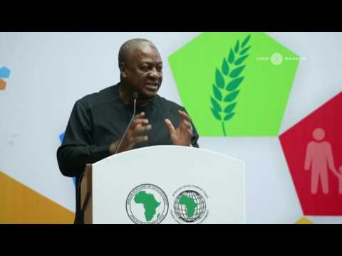 Agriculture is Cool: An address by HE John D. Mahama at the 2017 AfDB Annual Meeting