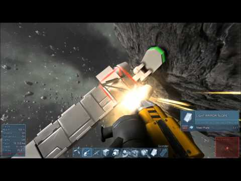 Great Time Waster! Deathart Buildin' Space Engineers Part 1