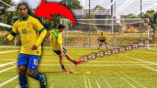 RONALDINHO TORE NACHSTELLEN FUßBALL CHALLENGE!