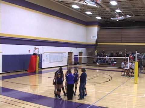 Caledonia 8th Grade Girls' Volleyball Duncan Lake vs. Kraft