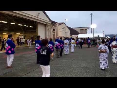 Japanese Bon Dance at Yokohama Air Base
