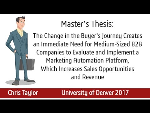 Master thesis marketing strategy