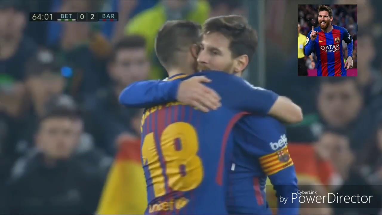 Download Real Betis vs Barcelona 0 5 All Goals  Highlights   La Liga 21 01 2018 HD