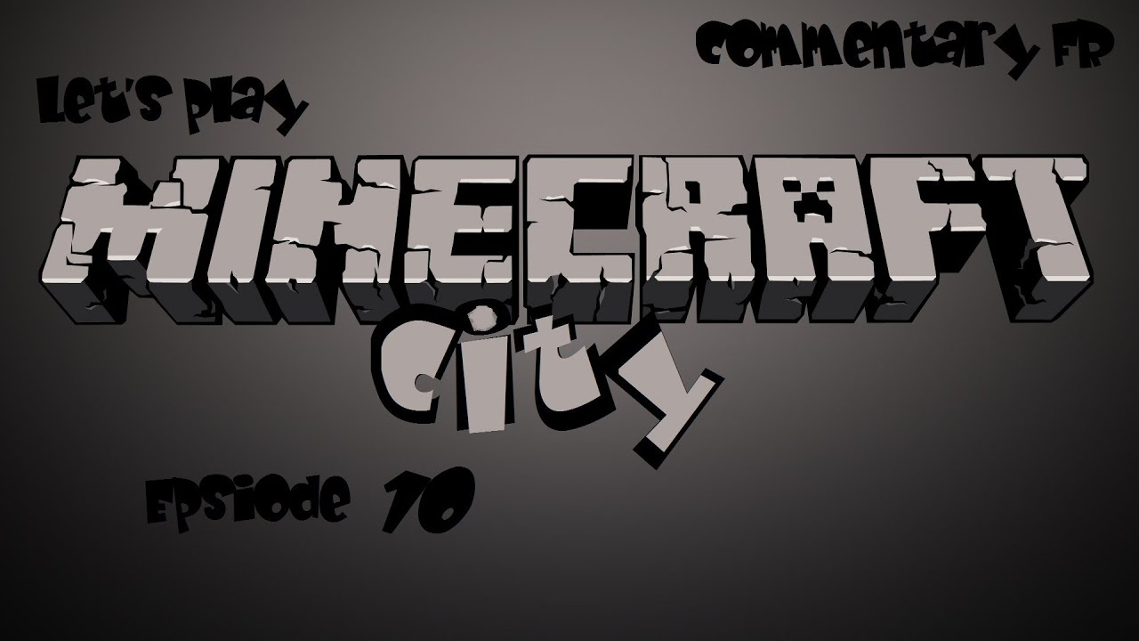 Minecraft : Minecraft City - Tuto MCedit FR \ Shaders et textures en 512 à 2048 pixels \ épisode ...