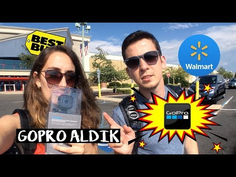 BEST BUY'DAN GOPRO ALDIK | Walmart Alışverişimiz | Work and Travel