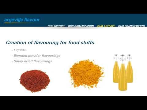 Argeville Flavour Presentation