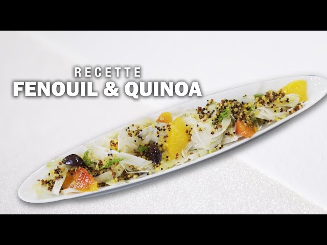 FENOUIL & QUINOA by Éric Briffard