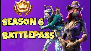 *TEMPORADA 6 BATTLE PASS* MASCOTAS AÑADIDAS 2018 Fortnite New Skins & Daily Fortnite Moments