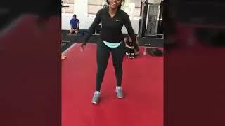 Sbahle Mpisane Fitness Training