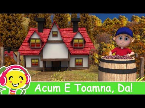Acum E Toamna, Da! - CanteceGradinita.ro - cantec de toamna pentru copii
