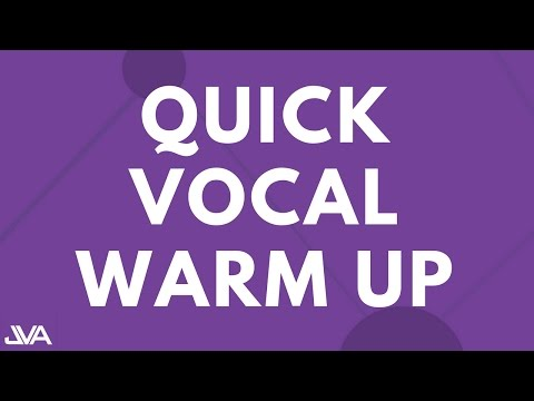 VOCAL WARM UP EXERCISE