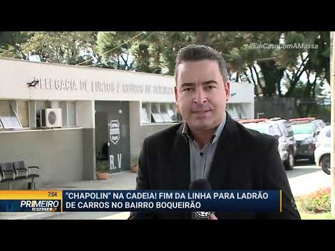 Fim Da Linha Para Suspeito De Roubar Carros - Primeiro Impacto PR (01/04/2020)