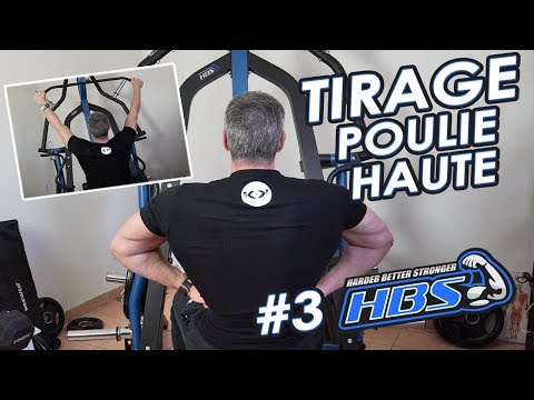 #3 TIRAGE Poulie Haute | HBS Turbo trainer (home Gym)