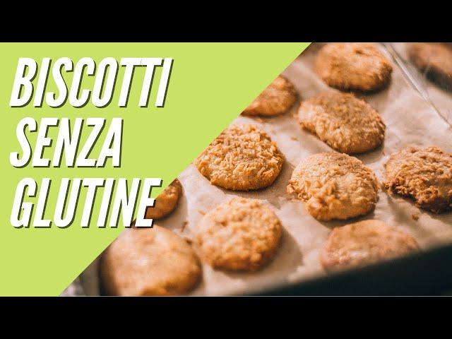 Cookies senza glutine #shorts