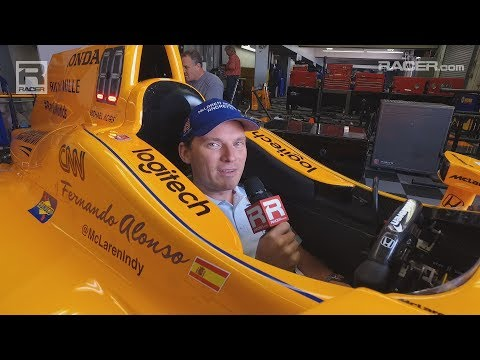 Indy 500: Eric Bretzman on Fernando Alonso's Steering Wheel