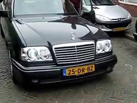 mercedes w124 e500 tuning starts youtube. Black Bedroom Furniture Sets. Home Design Ideas