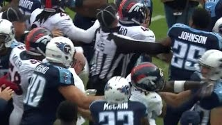 Harry Douglas Cheap Shot Leads to Brawl with Aqib Talib