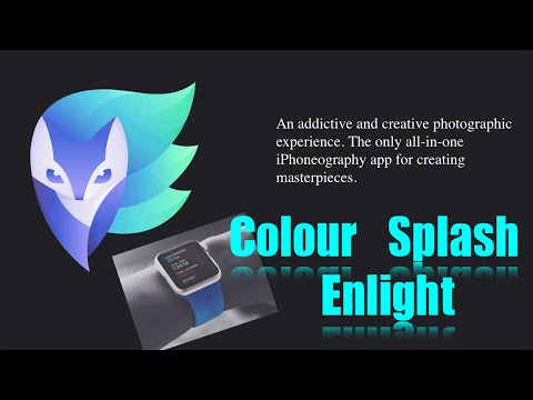 Enlight iPhone App | Color Splash