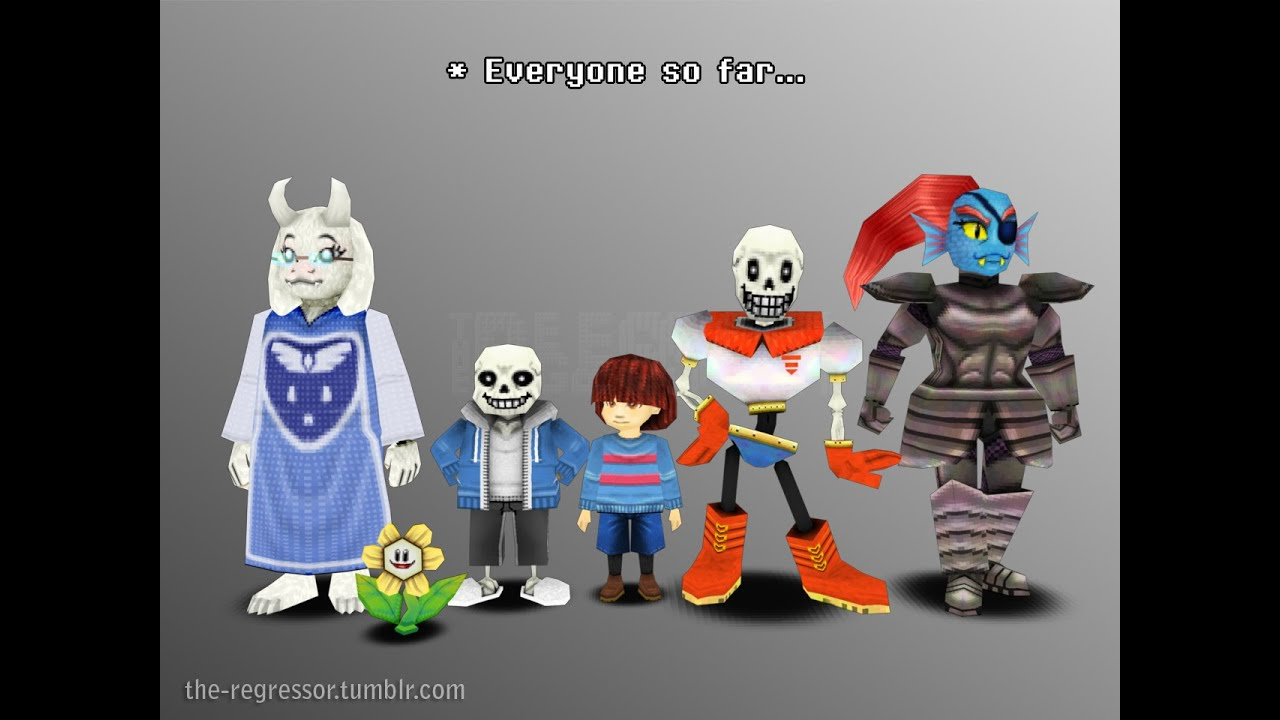 Anime Characters For Gmod : Undertale in gmod garry s mod youtube