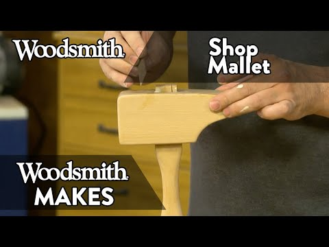 A Shop-Built Mallet Made With Scrap Wood!