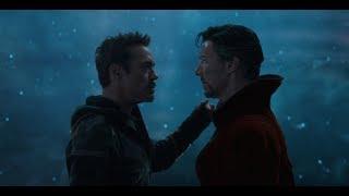 Кто здесь спас задницу мага? Старк и Стрэндж - Мстители: Война бесконечности
