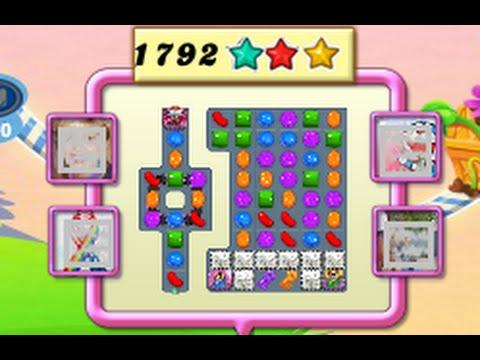 Candy Crush Saga Level 1792 NO BOOSTERS