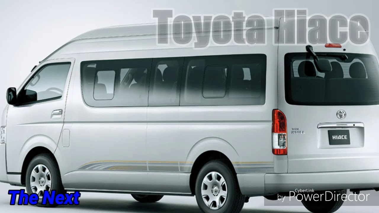 2019 Toyota Hiace Commuter The New Luxury Design Youtube