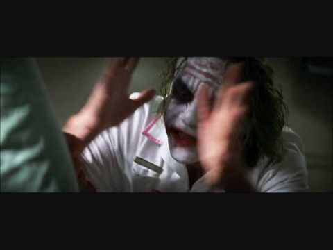 joker and two face hospital scene from meet