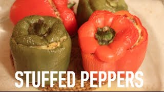 ❤ Cooking Vlog: Stuffed Peppers!