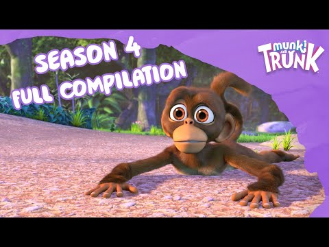 Full Season Compilation – Munki And Trunk Season 4