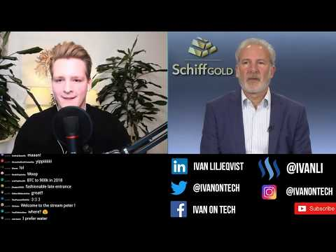 Ivan on Tech debates Peter Schiff - Bitcoin vs Gold, US Dollar Crash