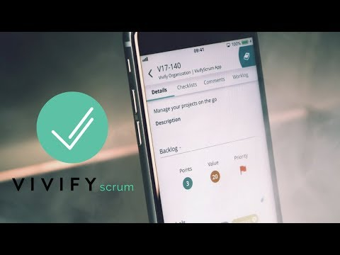 VivifyScrum now on both iOS and Android!
