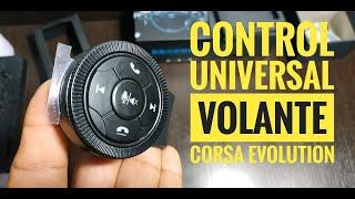 CONTROL UNIVERSAL DE VOLANTE EN CORSA EVOLUTION