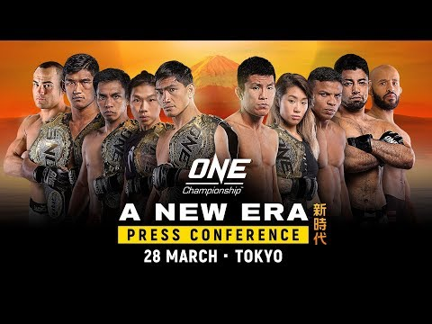 ONE Championship: A NEW ERA Official Press Conference