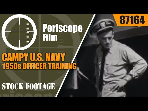 "CAMPY U.S. NAVY 1950s OFFICER TRAINING & DISCIPLINE FILM ""THE NAVY WAY"" 87164"