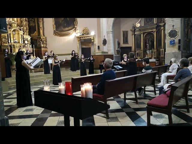 Adoramus te, de J. G. Rheinberger. VokalArs. Dir.: Nuria Fernández Herranz. Piano: Teresa Vilaplana.