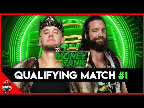 WWE 2K20 MONEY IN THE BANK QUALIFYING MATCH 1 - KING CORBIN VS ELIAS