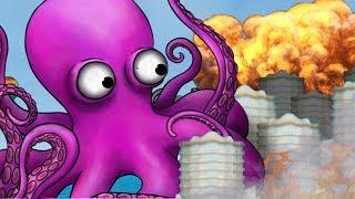 HUGE OCTOPUS ATTACKS CITY!!! - Full Octopus Segment - Tasty Planet Forever   Ep 2