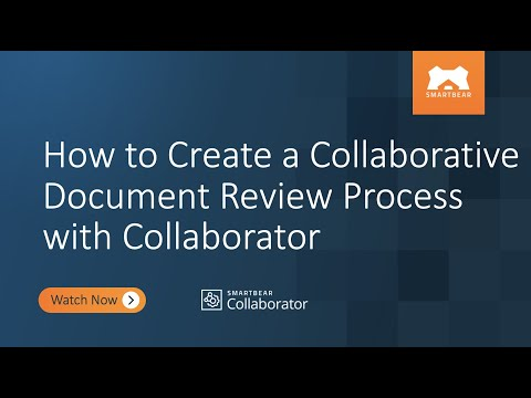 How to Create a Collaborative Document Review Process with Collaborator