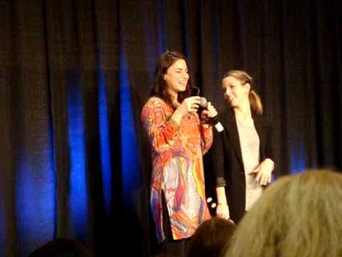 Traci Dinwiddie prank calls her mom  Supernatural Chicago 2009
